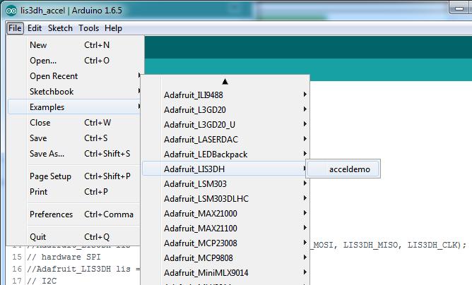 Adafruit LIS3DH Triple-Axis Accelerometer Breakout - Robu in
