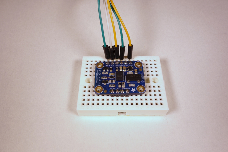 BNO055 Absolute Orientation Sensor with Raspberry Pi