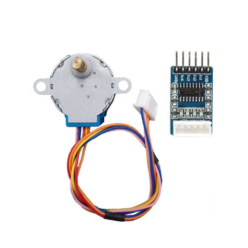 Buy 28BYJ-48 Stepper Motor with ULN2003 Motor Driver Online