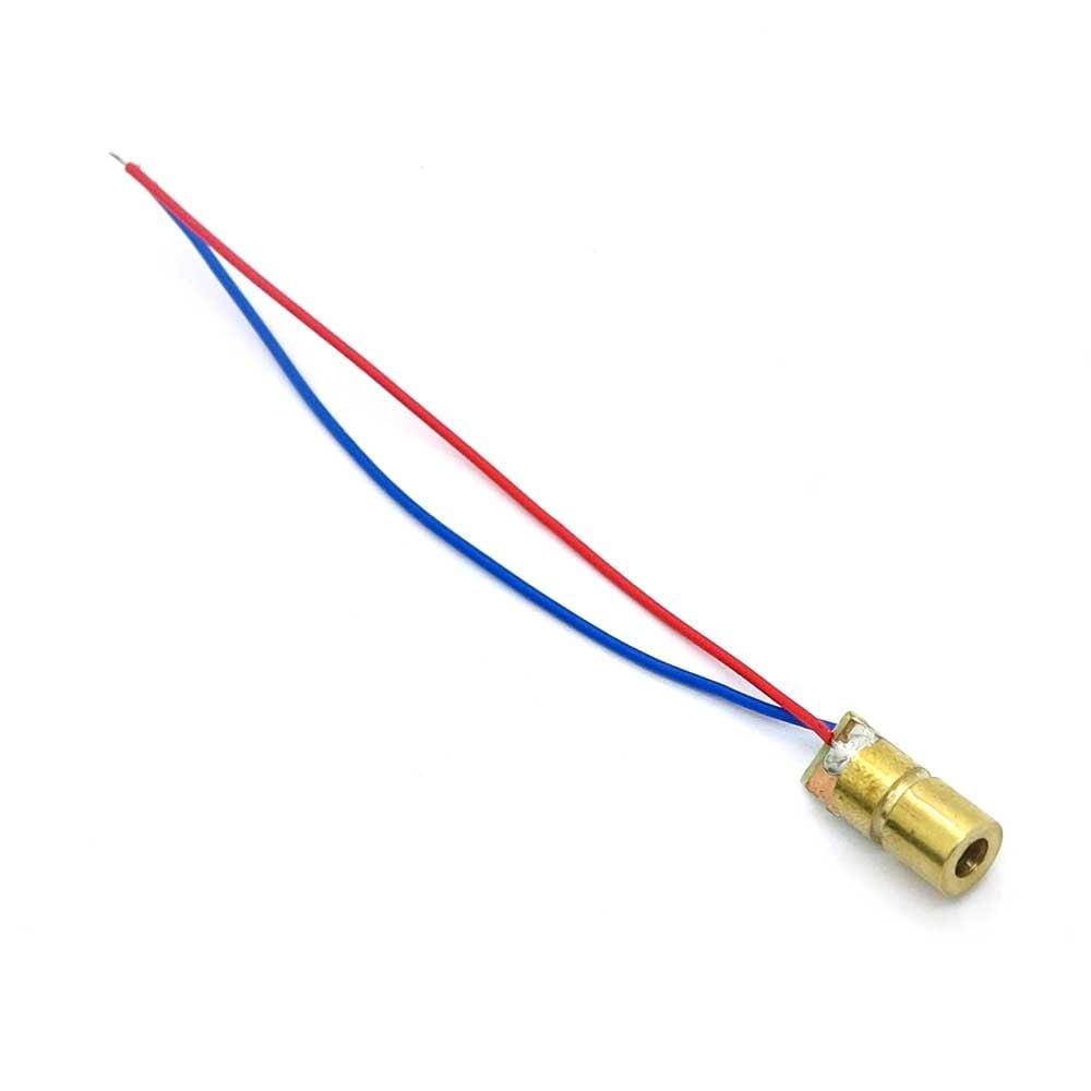 650nm 6mm 5V DC 5mW Mini Laser Dot Diode Module