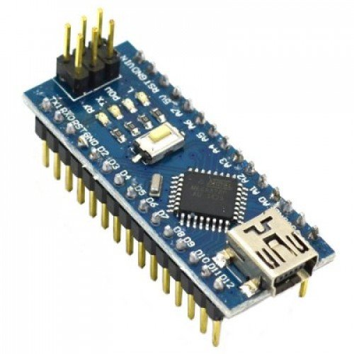 Nano CH340 Chip Board without USB cable compatible with Arduino (Soldered)
