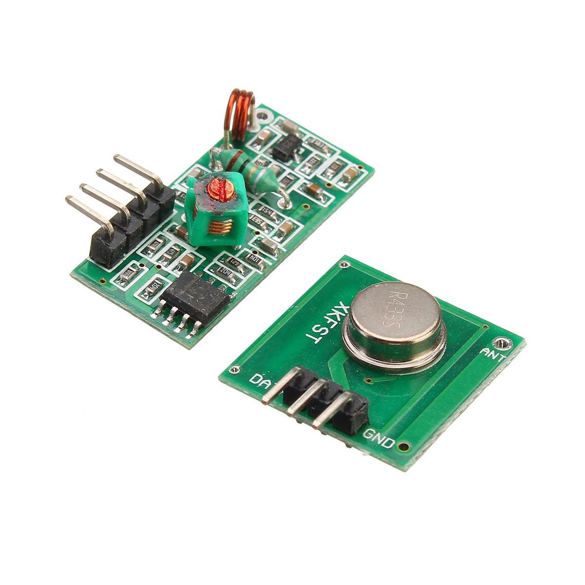 FS1000A 433mHz Tx & Rx RF Radio Module- ROBU.IN