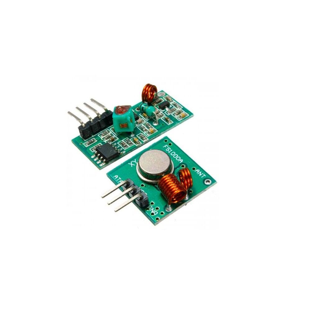 FS1000A 433mHz Tx & Rx RF Radio Module - ROBU.IN