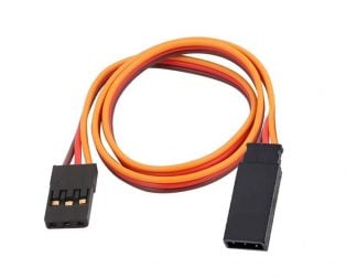 60CM Servo Lead Extention (JR) 26AWG With Hook