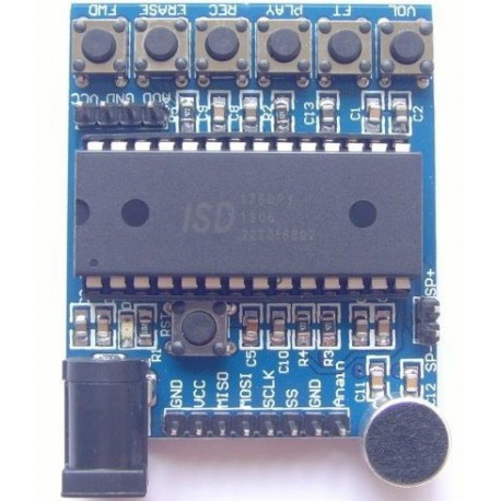 ISD1760 Recording Playback Module