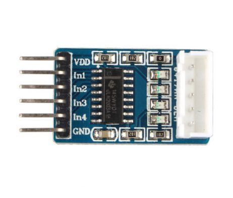 ULN 2003 Stepper Motor Driver+Motor Combo (Good Quality)