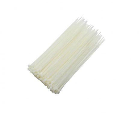 Plastic Ties 200mm White (100pcs)