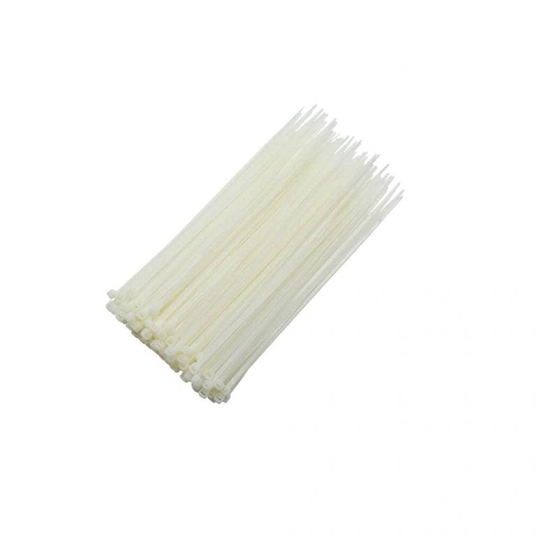 Plastic Ties 250 Mm Plastic Ties 250 Mm White (100pcs)White (100pcs)