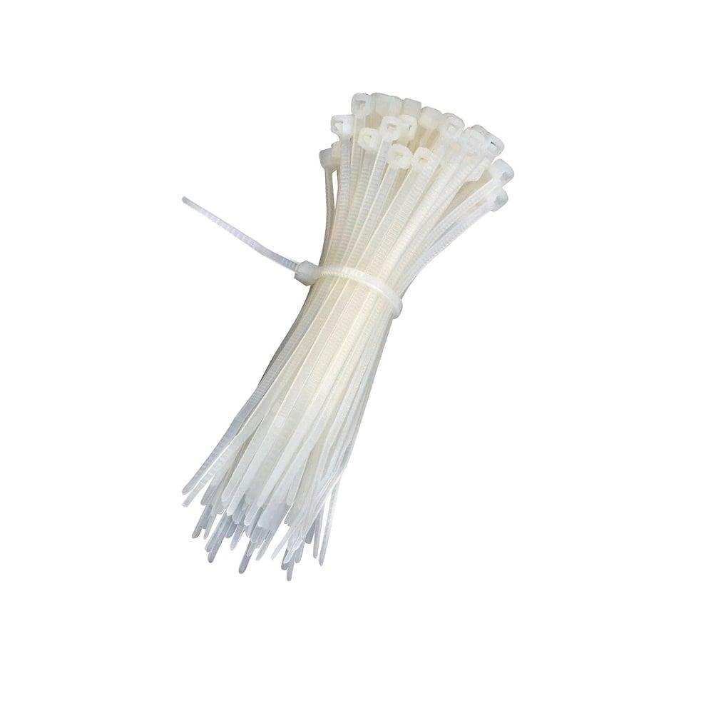 Plastic Ties 300 mm White (100pcs)
