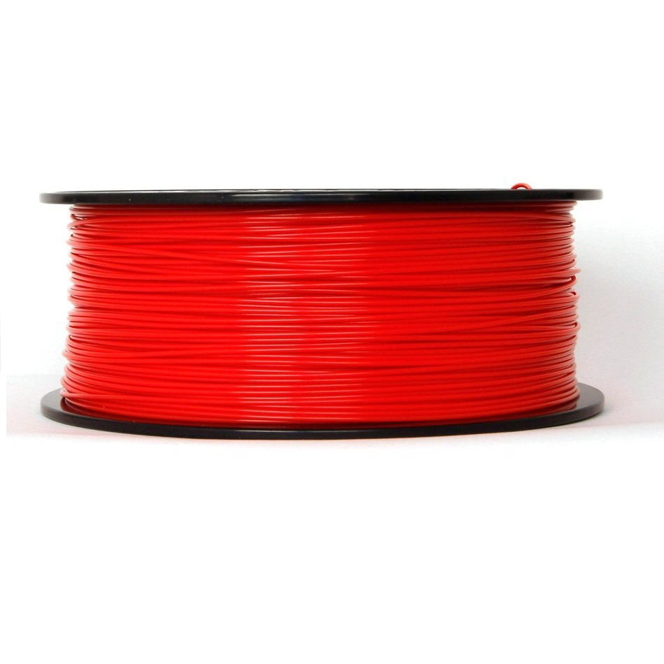 WANHAO Translucent Red PLA 1.75 mm 1 KG Filament for 3D printer - Premium Quality