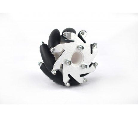 60mm Aluminum LEGO Compatible Mecanum Bearing Rollers Wheel-LEFT