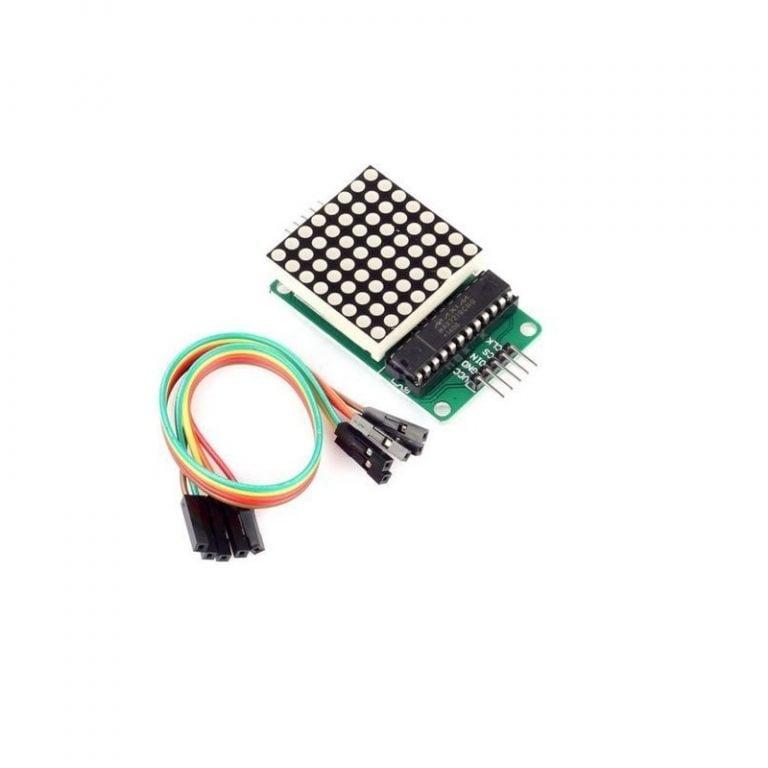 MAX7219 Dot Led Matrix Module MCU Control LED Display Module