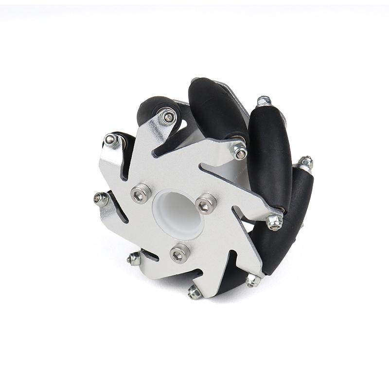 60mm Aluminum LEGO Compatible Mecanum Bearing Rollers Wheel-Right