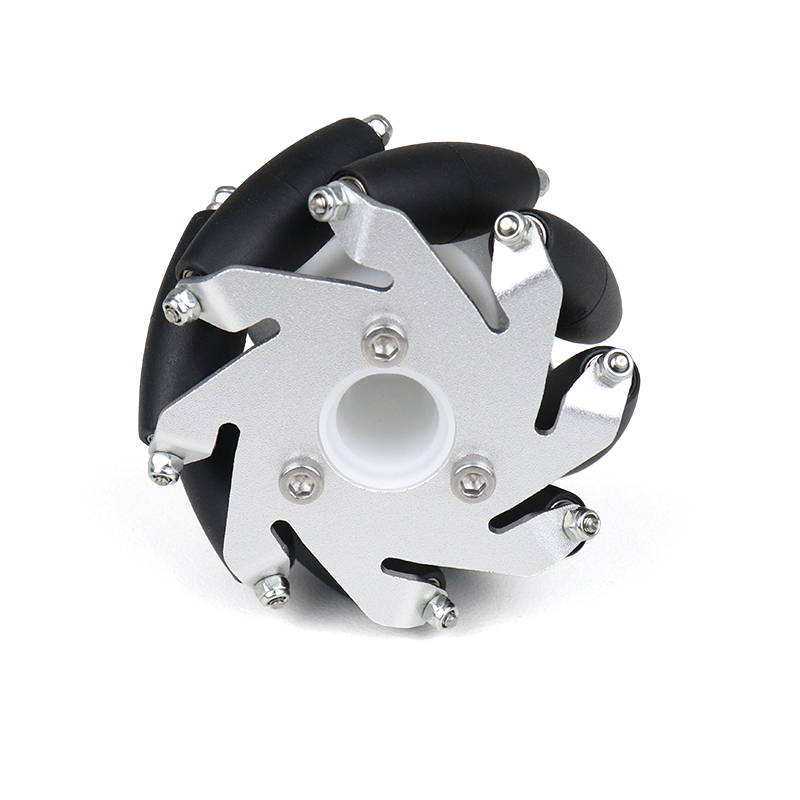 60mm Aluminum Lego Compatible Mecanum Wheels (Bush Type)-Left