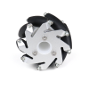 60mm Aluminum Lego Compatible Mecanum Wheel (Bush Type)-Right