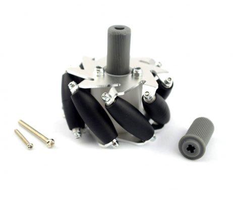 60mm Aluminum LEGO Compatible Mecanum