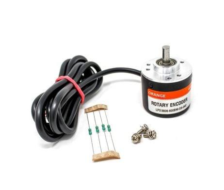 Orange 600 PPR Incremental Optical Rotary Encoder (600PPR | 2400CPR)