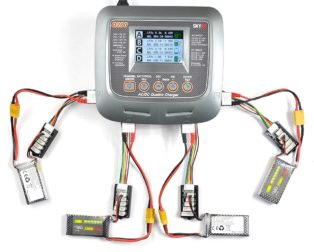 SkyRC Q200 QUATTRO AC/DC 2X100W 2X50W Lipo Battery Balance Charger/Discharger