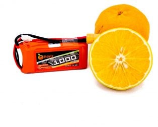 Orange 1000mAh 3S 30C/60C Lithium polymer battery Pack (LiPo)