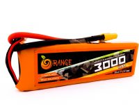 Orange 3000mAh 3S 40C/80C Lithium polymer battery Pack (LiPo)Orange 3000mAh 3S 40C/80C Lithium polymer battery Pack (LiPo)
