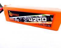 Orange 4200mAh 6S 35C/70C Lithium polymer battery Pack (LiPo)