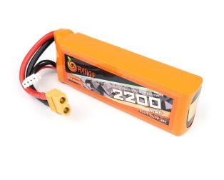 Buy Orange 2200mAh Lipo Battery In India