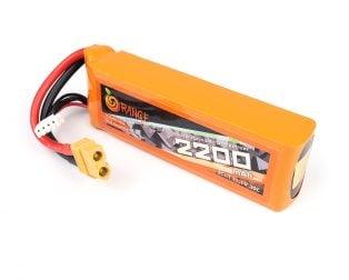 Buy Orange 2200mAh Lipo Battery In India