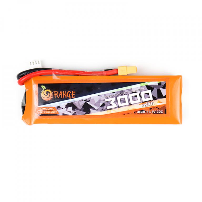 Orange 3000mAh 3S 30C/60C Lithium polymer battery Pack (LiPo)