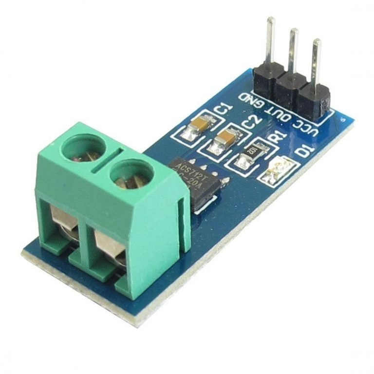 20A Range Current Sensor Module ACS712