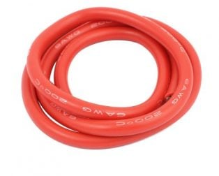 High Quality 6AWG Silicone Wire 0.5m (Red)