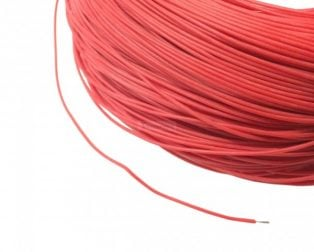 High Quality 30AWG Silicone Wire 5M (Red)