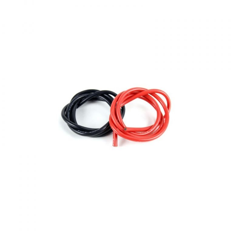 High Quality 6AWG Silicone Wire 1m (Black) + 1m (Red)