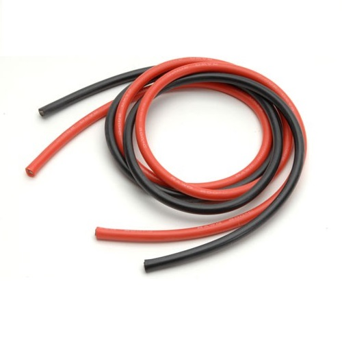 High Quality 8AWG Silicone Wire 0.5m (Red) + 0.5m (Black)