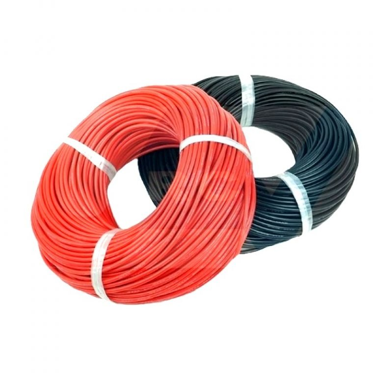 High Quality 14AWG Silicone Wire 1m (Red) + 1m (Black)