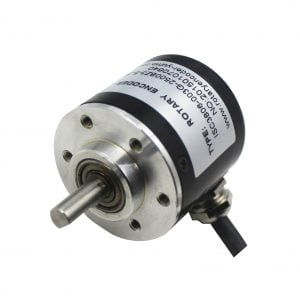 SPG30E-30K DC Geared Motor with Encoder 150RPM 18N.cm 12V