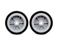 EasyMech Heavy Duty(HD) Disc Wheel 100mm Dia. (Gray) - 2Pc