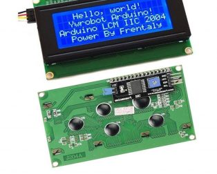 Serial 2004 20 X 4 IIC/I2C/TWI Blue Backlight LCD Module