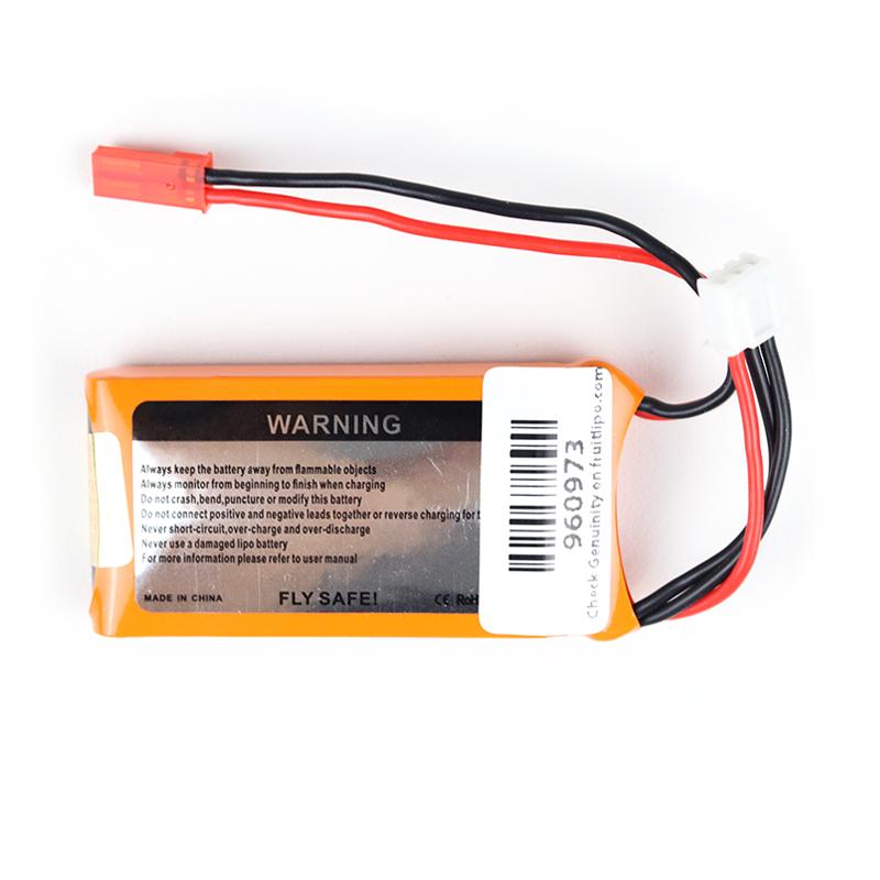 Orange 360mah 2S 30C/60C Lithium Polymer Battery Pack (LiPo)