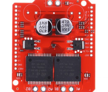 Dual Monster Moto Shield VNH2SP30 DC Motor Driver 2x14A (Peak 30A)
