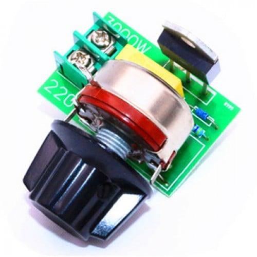 3000W Thyristor SCR Voltage Regulator Temperature Dimmer for Speed / Light  (AC 220V)