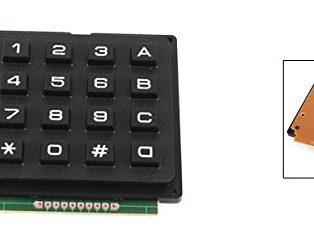 4x4 Matrix 16 Keyboard Keypad
