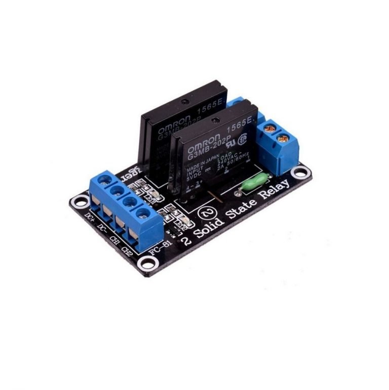 5V 2 Channel SSR G3MB-202P Solid State Relay Module