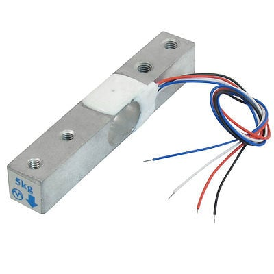 Weighing Load Cell Sensor 5kg YZC-131 With Wires