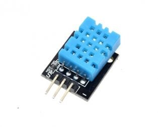DHT11 Digital Relative Humidity & Temperature Sensor Module-ROBU.IN