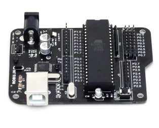 Aryabhatta 8051 Development Board AT89S52 with Onboard USB Programmer