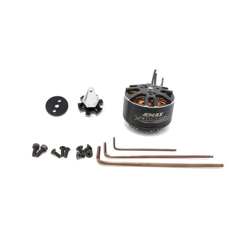 EMAX MT3515 650KV Brushless DC Motor - Silver Cap (CCW Motor Rotation)