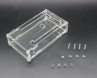 Free-shipping-font-b-Enclosure-b-font-Transparent-Gloss-Acrylic-Box-Compatible-for-font-b-arduino