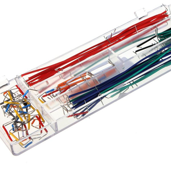 140 Pcs Solderless Flexible Breadboard Jumper Cable Wires for Arduino