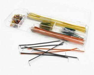 Hot-Sell-140-pcs-U-font-b-Shape-b-font-Solderless-Breadboard-Jumper-Cable-Wire-font