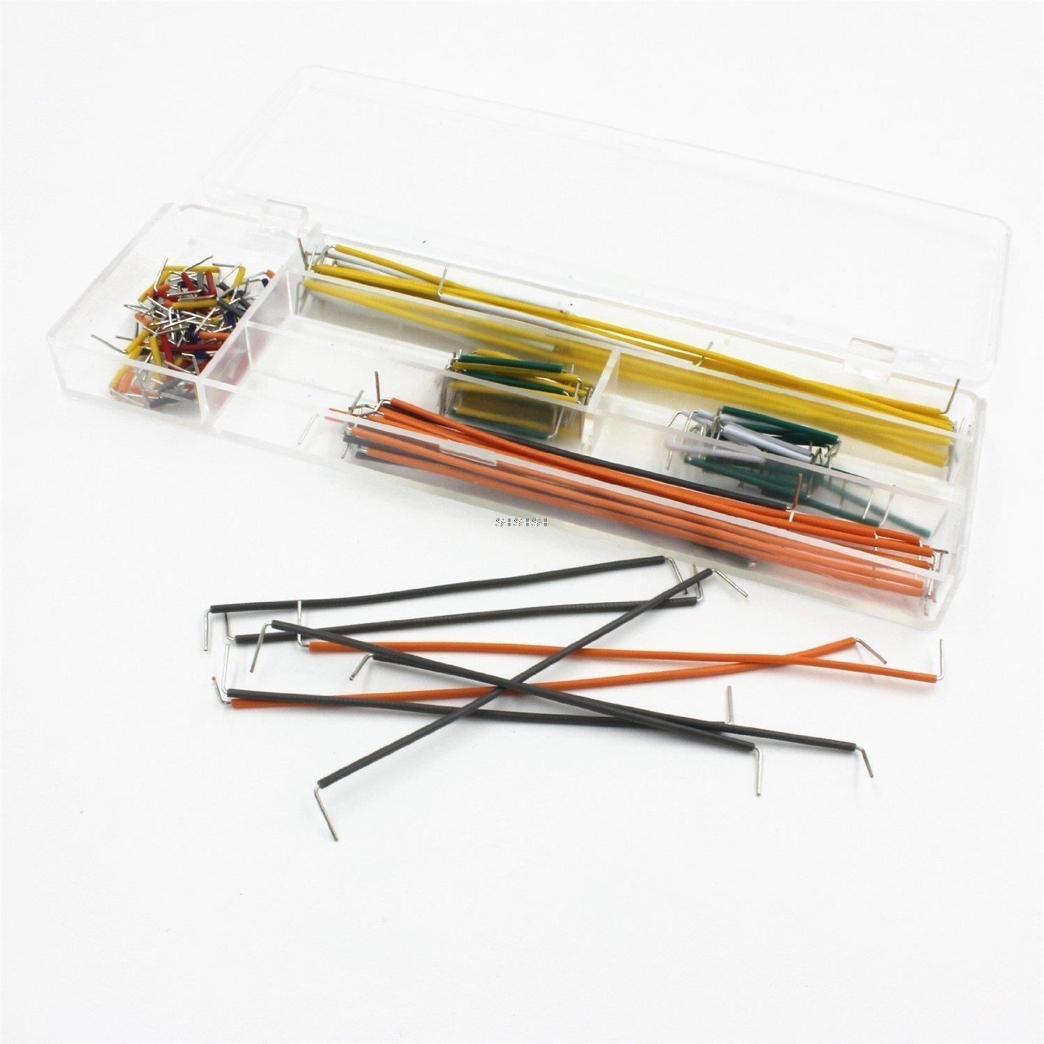 140 Pcs U Shape Solderless Breadboard Jumper Cable Wire Kit Robu Wiring Cables Hover To Zoom